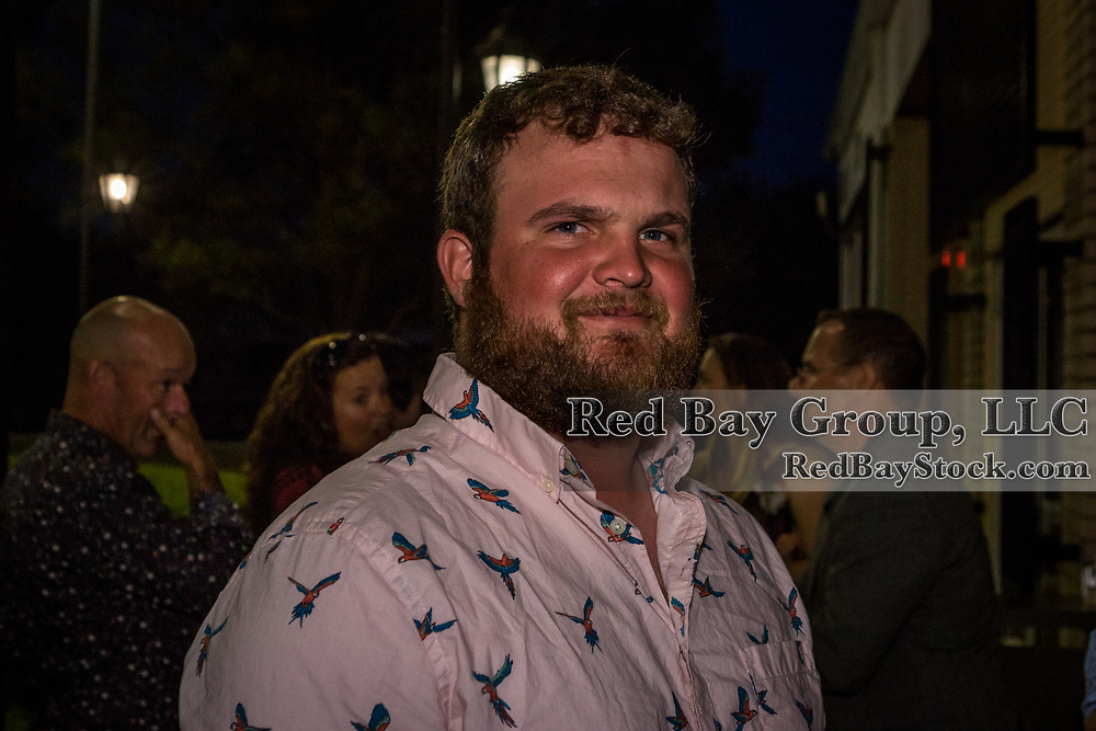 Mark McCleery during the Welcome Reception at Fasig-Tipton for competitors and sponsors of the 2019 Land Rover Kentucky Three-Day Event presented by MARS EQUESTRIAN in Lexington, Kentucky