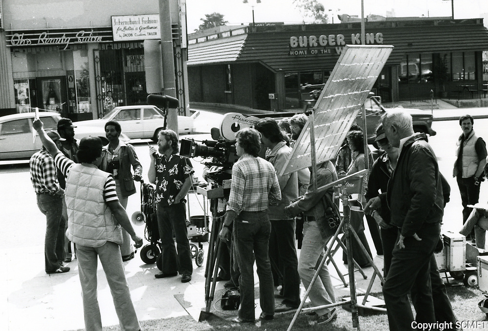 1980 Filming in Hollywood