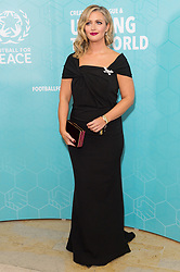 © Licensed to London News Pictures. 17/11/2017.  London, UK. HAYLEY MCQUEEN attends the Football For Peace Inaugural Ball held at Guildhall. Photo credit: Ray Tang/LNP