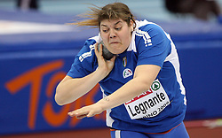 Assunta Legnante of Italy at the 1st day of  European Athletics Indoor Championships Torino 2009 (6th - 8th March), at Oval Lingotto Stadium,  Torino, Italy, on March 6, 2009. (Photo by Vid Ponikvar / Sportida)