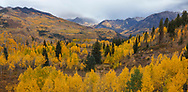 Autumn in the Rocky Mountains of Gunnison County Colorado; USA