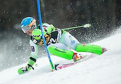 GROSELJ Zan of Slovenia competes in 1st Run during Men Slalom race of FIS Alpine Ski World Cup 54th Vitranc Cup 2015, on March 15, 2015 in Kranjska Gora, Slovenia. Photo by Vid Ponikvar / Sportida