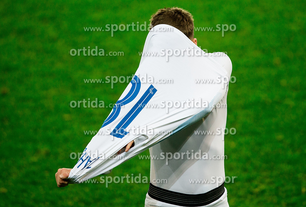 Luka Zahovic of Slovenia  after the football match between National Teams of Slovenia and Cyprus in Final Tournament of UEFA Nations League 2019, on October 16, 2018 in SRC Stozice, Ljubljana, Slovenia. Photo by Vid Ponikvar / Sportida