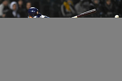 April 21, 2018 - Chicago, IL, U.S. - CHICAGO, IL - APRIL 21: Houston Astros second baseman Jose Altuve (27) breaks his bat into a ground ball double play during a game between the and the Houston Astros the Chicago White Sox on April 21, 2018, at Guaranteed Rate Field, in Chicago, IL. (Photo by Patrick Gorski/Icon Sportswire) (Credit Image: © Patrick Gorski/Icon SMI via ZUMA Press)