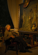 DIgital photograph of a famous painter from Slovakia and father of Sabrina Mesko.