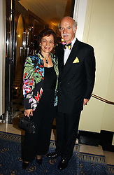 MR & MRS ANTON MOSIMANN at a party hosted by Ruinart Champagne at Claridges, Brook Street, London on 18th October 2006.<br /><br />NON EXCLUSIVE - WORLD RIGHTS