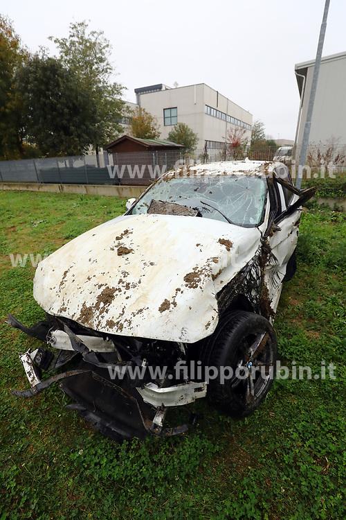 L'AUTO NELLA CARROZZERIA MODERNA DI ARGENTA<br /> INCIDENTE MORTALE OSPITAL MONACALE