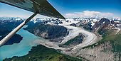 Alaska: Glacier Bay National Park flight