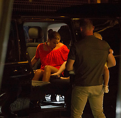 Wayne Rooney and Coreen Rooney seen going out for dinner with the family on June 26th 2017 in Ibiza, Spain. 27 Jun 2017 Pictured: Wayne Rooney, Coreen Rooney. Photo credit: IMP Features / MEGA TheMegaAgency.com +1 888 505 6342