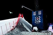 Henrik Harlaut during Men's Ski Big Air Finals at 2017 X Games Norway at Hafjell Alpinsenter in Øyer, Norway. ©Brett Wilhelm/ESPN