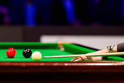 Oliver Lines at exhibition tournament - Best of snooker between Luca Brecel from Belgium and Oliver Lines from Great Britain, on May 11, 2017, in Hala Tivoli, Ljubljana, Slovenia. Photo by Urban Urbanc / Sportida