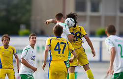 Football match between NK Domzale and NK Olimpija Ljubljana in 36th, last Round of PrvaLiga 1st SNL, on May 20, 2012 in Sports park Domzale, Slovenia.  (Photo by Vid Ponikvar / Sportida.com)