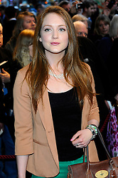 .Olivia Hallinan  attends the press night of the play The King's Speech  in London on Tuesday, March 27, 2012 Photo by: Chris Joseph / i-ImagesRula Lenska  attends the press night of the play The King's Speech  in London on Tuesday, March 27, 2012 Photo by: Chris Joseph / i-Images