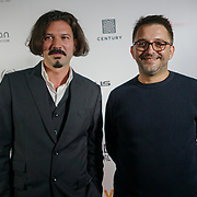 London, England, UK. 25th September 2017. Actor Boris Glibusic and Director Timur Makarevic of Nothing but the wind attend Raindance Film Festival Screening at Vue Leicester Square, London, UK