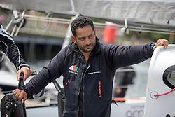Mohsin Al Busaidi (OMA). Oman Sail's MOD70 Musandam races in the Eckernförde race at  Kiel week 2014, 21-06-2014, Kiel - Germany.