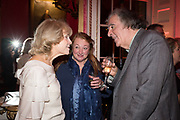 ANNE SEBBA, AMANDA CRAIG, MICHAEL ARDITTI Literary Review  40th anniversary party and Bad Sex Awards,  In & Out Club, 4 St James's Square. London. 2 December 2019