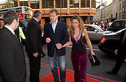 Gordon and Tana Ramsay. Billy Elliot- The Musical opening night at the Victoria palace theatre and party afterwards at Pacha, London. 12 May 2005. ONE TIME USE ONLY - DO NOT ARCHIVE  © Copyright Photograph by Dafydd Jones 66 Stockwell Park Rd. London SW9 0DA Tel 020 7733 0108 www.dafjones.com