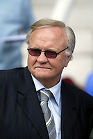 Photo: Marc Atkins.<br /> Peterborough United v Wycombe Wanderers. Coca Cola League 2. 06/05/2006. Ron Atkinson pitchside before kick off.