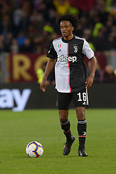 May 12, 2019 - Rome, Italy - Juan Cudrado during the Italian Serie A football match between A.S. Roma and Juventus at the Olympic Stadium in Rome, on may 12, 2019. (Credit Image: © Silvia Lore/NurPhoto via ZUMA Press)