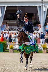Kenny Darragh, IRL, Balou du Reventon<br /> Grand Prix Rolex powered by Audi <br /> CSI5* Knokke 2019<br /> © Hippo Foto - Dirk Caremans<br /> Kenny Darragh, IRL, Balou du Reventon