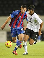 Basels Orhan Mustafi gegen Moreno © Melanie Duchene/EQ Images