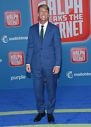November 5, 2018 - Hollywood, California, U.S. - Jack McBrayer arrives for the 'Ralph Breaks the Internet' World Premiere at the El Capitan theater. (Credit Image: © Lisa O'Connor/ZUMA Wire)