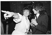 Lady Lucinda Lambton and Barnaby Harrod. Lord Antony Lambton book party, Arts Club. 19 September 1983. © Copyright Photograph by Dafydd Jones 66 Stockwell Park Rd. London SW9 0DA Tel 020 7733 0108 www.dafjones.com