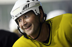 Player Nik Zupancic at second ice hockey practice of HDD Tilia Olimpija on ice in the new season 2008/2009, on August 19, 2008 in Hala Tivoli, Ljubljana, Slovenia. (Photo by Vid Ponikvar / Sportal Images)