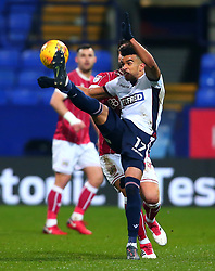 Derik Osede of Bolton Wanderers - Mandatory by-line: Robbie Stephenson/JMP - 02/02/2018 - FOOTBALL - Macron Stadium - Bolton, England - Bolton Wanderers v Bristol City - Sky Bet Championship