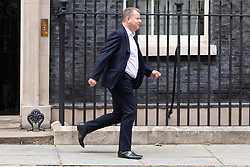© Licensed to London News Pictures. 08/09/2020. London, UK. British chief Brexit negotiator David Frost leaves Downing St ahead of meetings with Chief EU negotiator Michel Barnier. Photo credit: London News Pictures