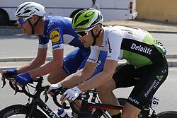 February 10, 2018 - Hatta Dam, UNITED ARAB EMIRATES - Dimension Data Belgian Julien Vermote in action at the fifth and last stage of the Dubai Tour 2018 cycling race, 129 km from the Skydive and the city WAlk in Dubai, United Arab Emirates, Saturday 10 February 2018. The Dubai Tour 2018 is taking place from 6 to 10 February. ..BELGA PHOTO YUZURU SUNADA (Credit Image: © Yuzuru Sunada/Belga via ZUMA Press)