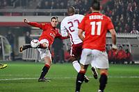 FOOTBALL - UEFA EUROPA LEAGUE 2010/2011 - 1/8 FINAL - 2ND LEG - PARIS SG v SL BENFICA - 17/03/2011 - PHOTO GUY JEFFROY / DPPI - GOAL MATHIEU BODMER (PSG)