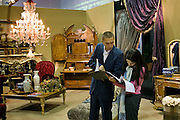 Moscow, Russia, 28/09/2005..The first Millionaire Fair in Moscow at the Crocus City Expo Centre attracted thousands of would-be and existing Russian millionaires to view and purchase a wide range of luxury goods. .