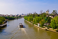 The Beijing-Hangzhou Great Canal at the Panmen City Gate, Suzhou, China