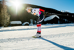 January 31, 2018 - Goms, SWITZERLAND - 180131 Lovise Heimdal of Norway competes in the women's 10km classic technique interval start during the FIS U23 Cross-Country World Ski Championships on January 31, 2018 in Obergoms..Photo: Vegard Wivestad GrÂ¿tt / BILDBYRN / kod VG / 170090 (Credit Image: © Vegard Wivestad Gr¯Tt/Bildbyran via ZUMA Press)