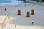 The world's largest free-to-the-public outdoor sculpture exhibition, Sculpture by the Sea, Bondi. .Steve Croquett- Heads Up