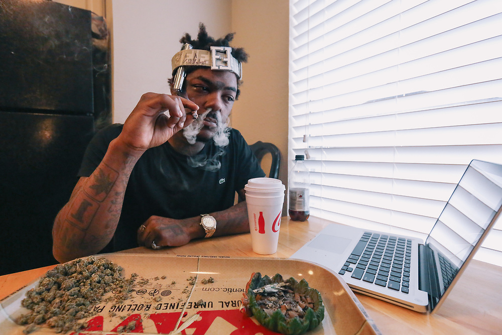 Dallas rapper Loudiene is one of the city's premier up-and-coming acts due in large part to his rawness and authenticity in his music and his charismatic nature