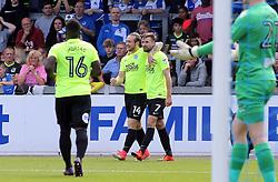 Jack Marriott of Peterborough United (14) celebrates scoring the opening goal of the game - Mandatory by-line: Joe Dent/JMP - 12/08/2017 - FOOTBALL - Memorial Stadium - Bristol, England - Bristol Rovers v Peterborough United - Sky Bet League One