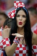 Fan of Croatia during the 2018 FIFA World Cup Russia, semi-final football match between Croatia and England on July 11, 2018 at Luzhniki Stadium in Moscow, Russia - Photo Thiago Bernardes / FramePhoto / ProSportsImages / DPPI