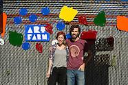 Art Farm Fence Installation