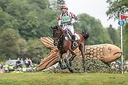 KELCYN PIRATE ridden by Toshiyuki Tanaka (Japan) at Bramham International Horse Trials 2016 at  at Bramham Park, Bramham, United Kingdom on 11 June 2016. Photo by Mark P Doherty.