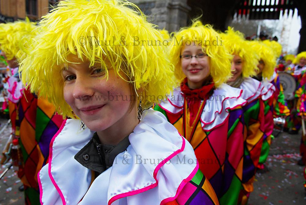 Allemagne. Cologne. Carnaval de fevrier. Le plus important carnaval en Allemagne. // Gemany. Koln. Carnival. Most important carnival in Germany.