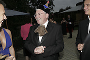 Peter Elwood, Party Belle Epoque hosted by The Royal Parks Foundation and Champagne Perrier Jouet. The Grand Spiegeltent, the Lido Lawns. Hyde Park. London. 14 September 2006. ONE TIME USE ONLY - DO NOT ARCHIVE  © Copyright Photograph by Dafydd Jones 66 Stockwell Park Rd. London SW9 0DA Tel 020 7733 0108 www.dafjones.com