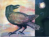 Acrylic on canvas<br /> 12 x 16