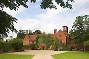 Sixteenth century Wood Hall manor house, Sutton, Suffolk, England