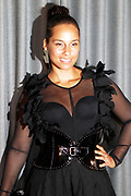 """April 3, 2017- Brooklyn, New York -United States: Recording Artist Alicia Keys attends The Seventh Annual Brooklyn Artists Ball honoring Alicia Keys and Kasseem """"Swiss Beatz"""" Dean held at the Brooklyn Museum on April 3, 2017 in Brooklyn, New York. The Brooklyn Artist Ball is the largest annual fundraising gala at the Brooklyn Museum, which celebrates Brooklyn's creative community and supports the institution's many programs. (Terrence Jennings/terrencejennings.com)"""