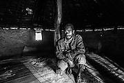 NOUVELLE CALEDONIE, HIENGHENE, Tribu de Ouayaguette - Portrait de Yann BEALO - Aire Coutumiere de Hoot Ma Waap - Aout 2013