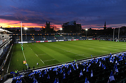 A general view of the Recreation Ground prior to the match - Mandatory byline: Patrick Khachfe/JMP - 07966 386802 - 16/12/2017 - RUGBY UNION - The Recreation Ground - Bath, England - Bath Rugby v RC Toulon - European Rugby Champions Cup