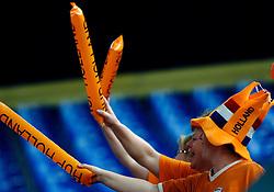27-04-2007 TURNEN: EUROPEES KAMPIOENSCHAP: AMSTERDAM<br /> Publiek Oranje Turn toeschouwers<br /> ©2007-www.fotohoogendoorn.nl
