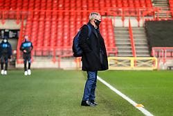 Portsmouth manager Kenny Jackett arrives - Rogan/JMP - 10/01/2021 - Ashton Gate Stadium - Bristol, England - Bristol City v Portsmouth - FA Cup.